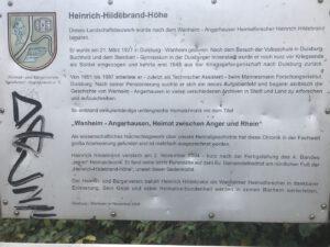 Infos zur Heinrich-Hildeband-Höhe