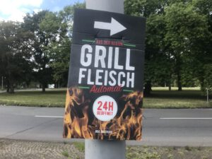 Grillfleisch!